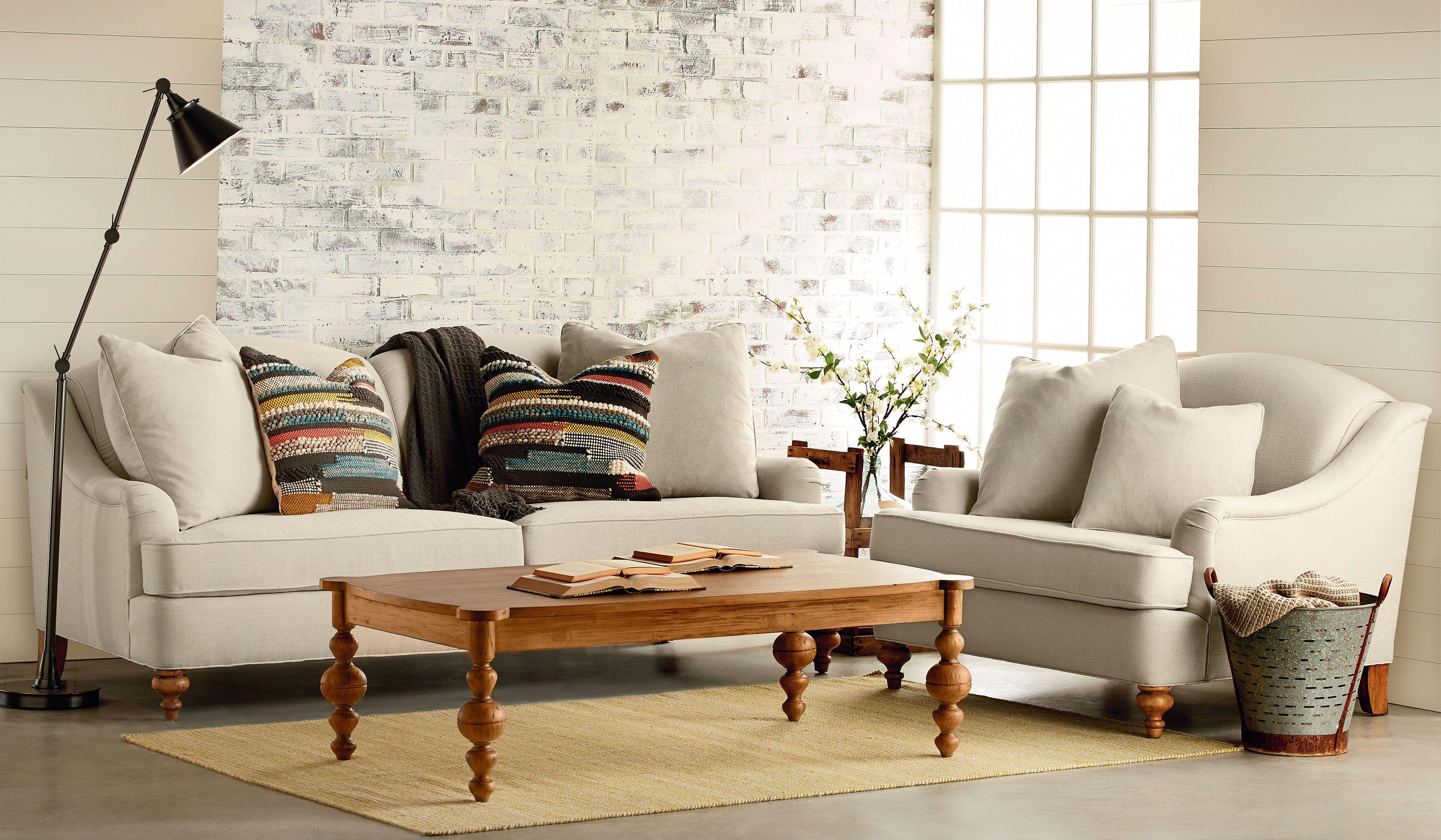 Magnolia Home - Adore Sofa ST:464833 | Living room | Pinterest ...