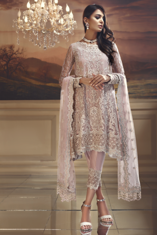50e2c86f6f *Anaya Chiffon Wedding Edit Collection 2018-Starlight  Pink*(Replica)(Unstitched) Online in Pakistan. Ladies Replica Suits Online  Shopping in Pakistan.