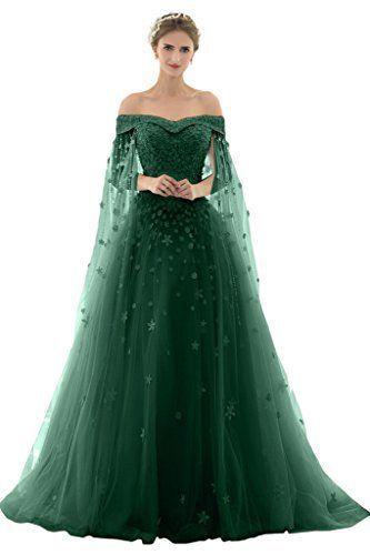 Promgirl House Damen Traumhaft Prinzessin A-Linie Spitze Abendkleider Fest Hochzeitskleider Lang mit Schleppe: Amazon.de: Bekleidung #spitzeapplique