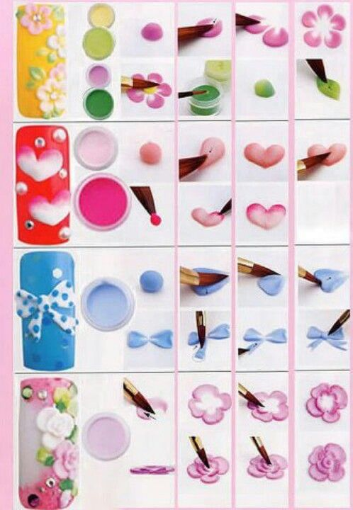 Acrylic 3D Nail Art Techniqueone Day I Want To Learn Do