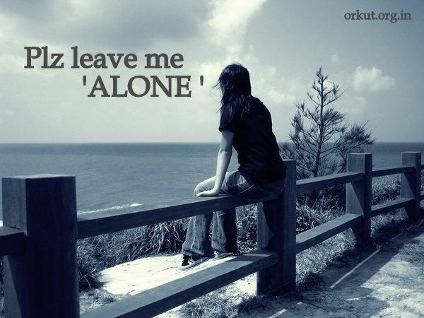 Plz Leave Me Alone · Alone QuotesEmo QuotesSad ...