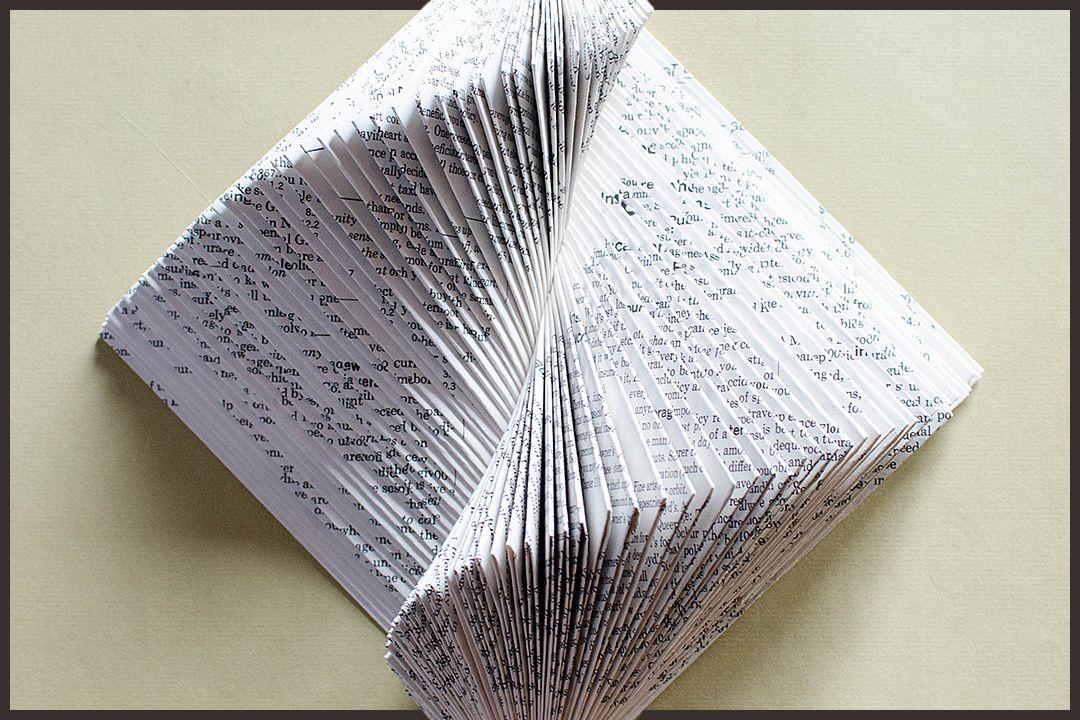 Book Sculpture by Johwey Redington