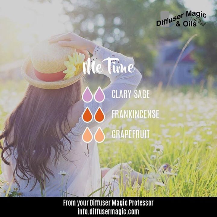 Me Time Diffuser Blend Clary Sage Grapefruit Frankincense Essential Oil Mixes Essential Oil Diffuser Blends Essential Oils
