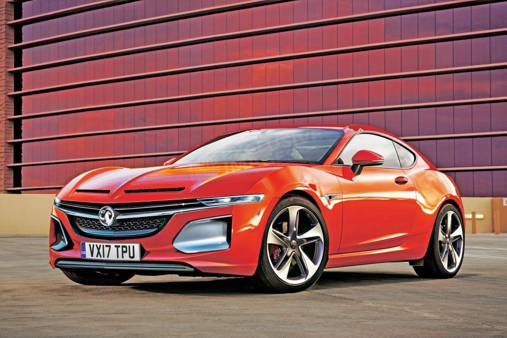 Opel Gt Rendering Vauxhall Opel New Sports Cars