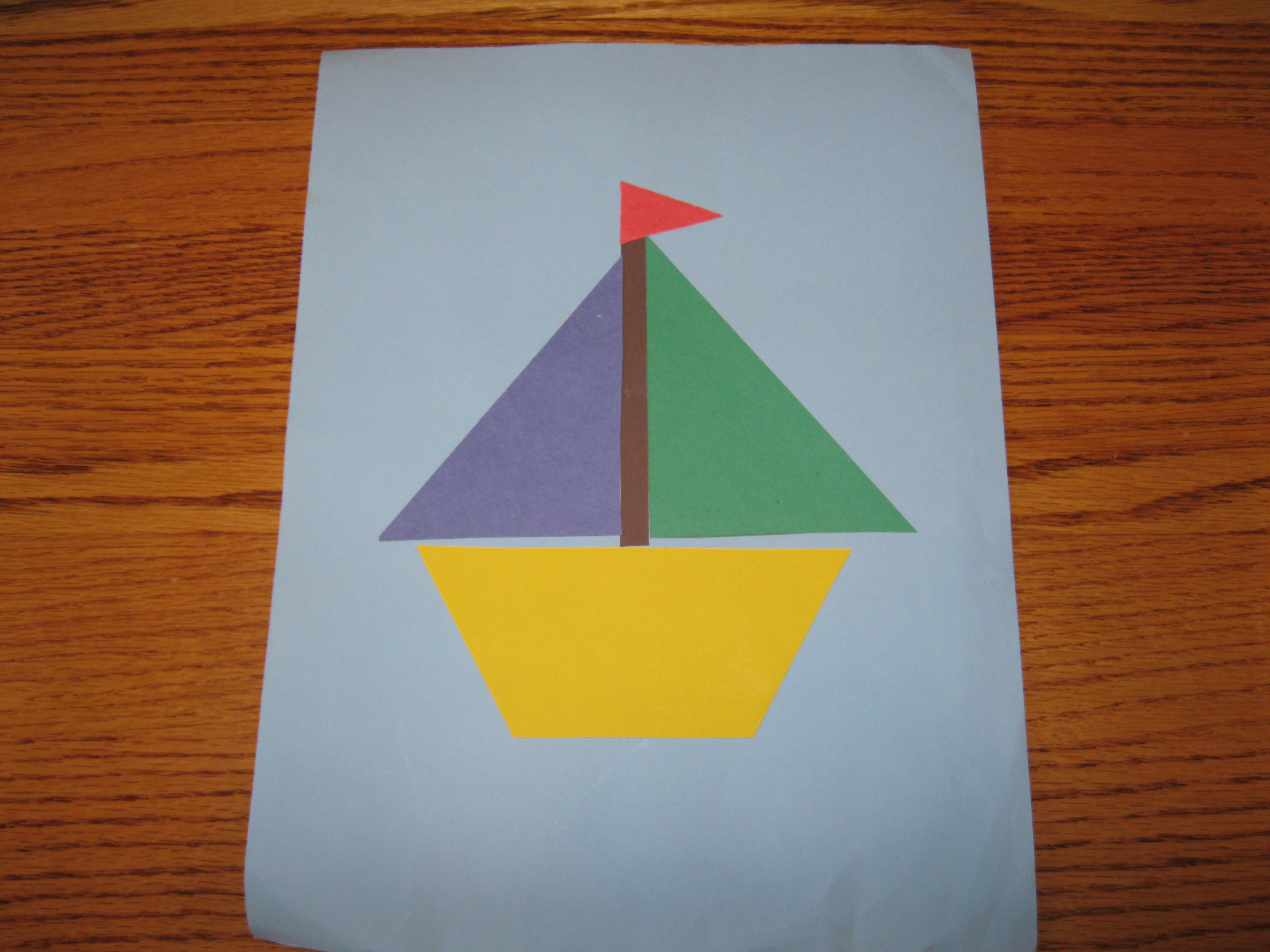 Easy Boat Printing Craft