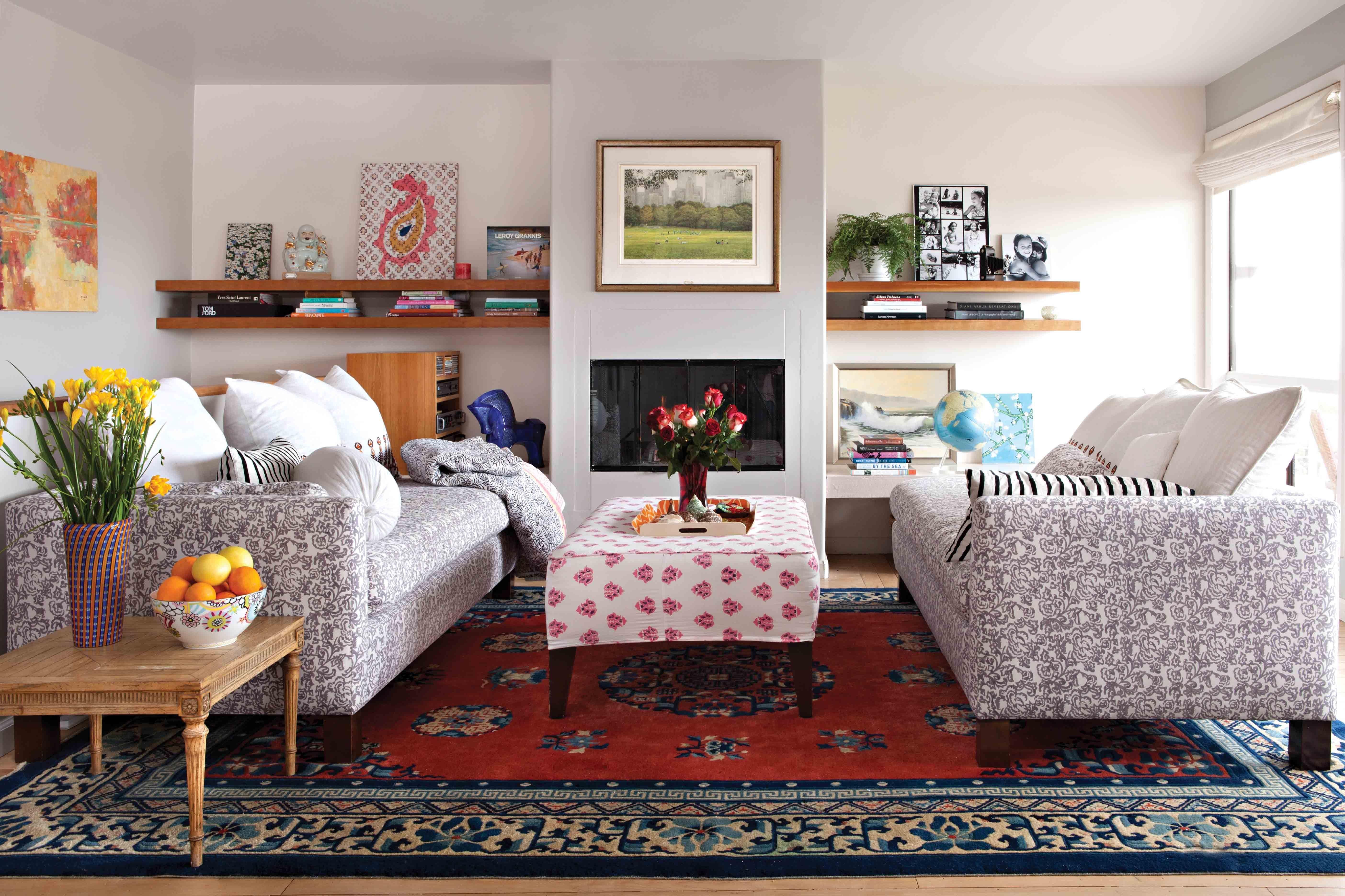 Red Oriental Rug Living Room Throw Carpets Bedroom Throw Rugs | rugs ...