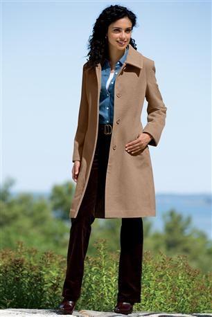 Classic-3/4-Length-Wool-Coat