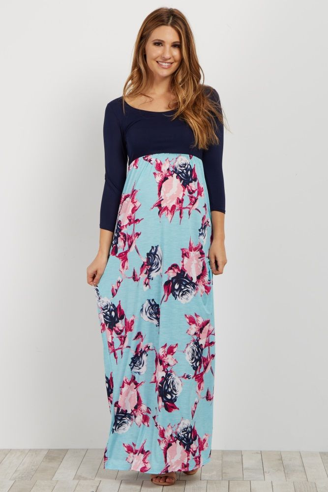 3d0f6f523e4 This dress is perfect when you need a gorgeous but effortless look. This  feminine floral bottom colorblock number is stunning and can be dressed up  or down ...