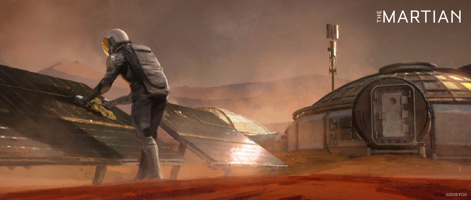 Concept art for The Martian movie | Concept art, Movie and ...