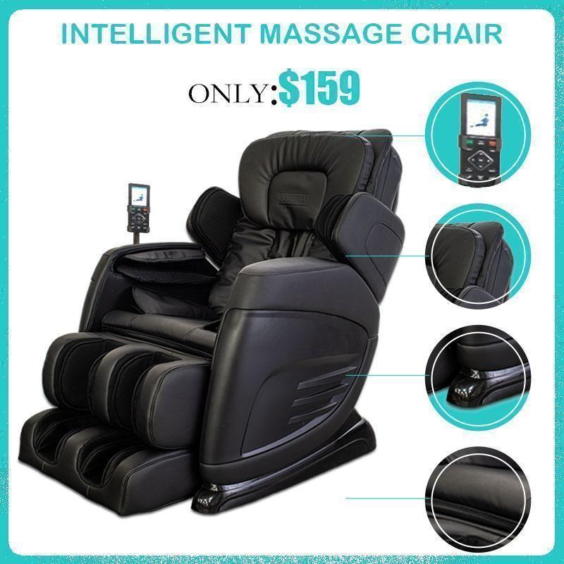 Full Body Shiatsu Massage Thermotherapy Electric Massage Chair In 2020 Full Body Massage Massage Chair Massage