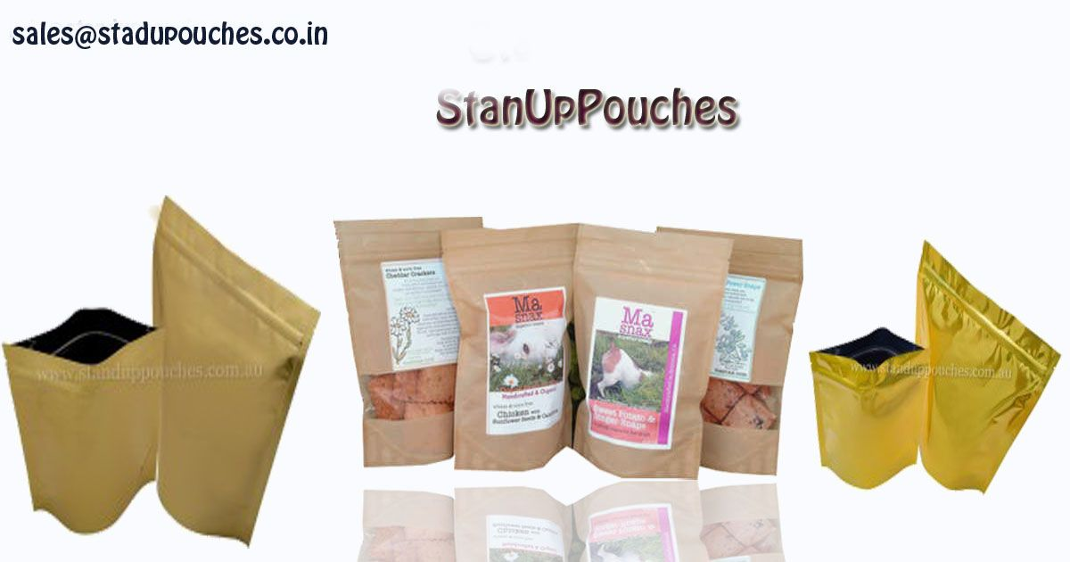 #Standuppouches are one the most frequently utilized packaging styles as they can be used to package products of different categories and forms.  Use for #Coffee #teabags #Foodbags