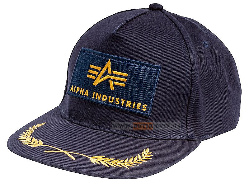 Кепка Branch Hat Alpha Industries (синя) Наявність: під замовлення  Ціна: 14 $