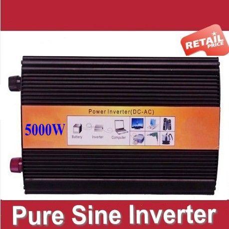 Dc 12v 24v To Ac 230v 120v 220v 230v 240v 5000w Pure Sine Wave Inverter Power Inverter 5000w Pure Sinusgolf Oms Sine Wave Power Inverters Solar Power Inverter