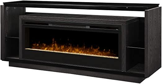 Dimplex David Media Console Electric Fireplace With Acrylic Ember