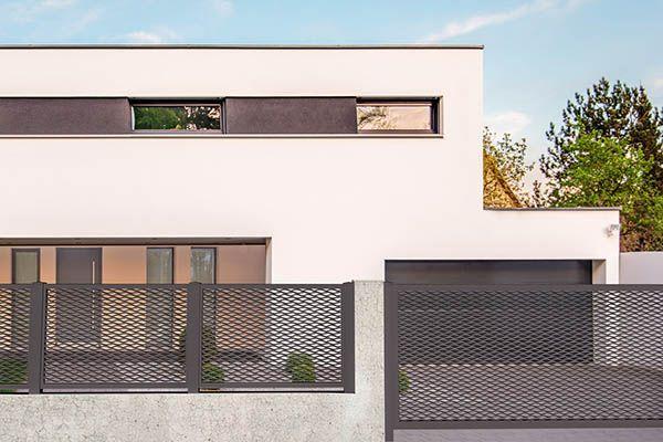 recinzioni per ville moderne latest cancelli e recinzioni