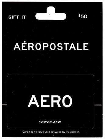 Aeropostale Gift Card As Lightning Deal Today 4 17 Starts At 10 29 A M Steals And Deals For Kids Gift Card Balance Gift Card Number Gift Card Deals