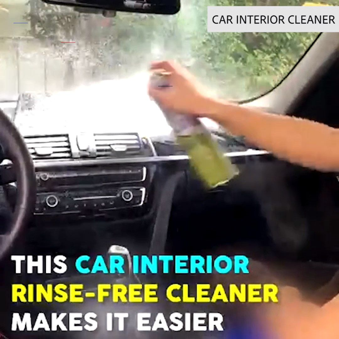 Super Clean Car Interior Cleaner Cleaningcars Do You Find It Tedious To Clean Your Car Daily Or Even Weekly En 2020 Interieurs De Voiture Trucs Et Astuces Voiture