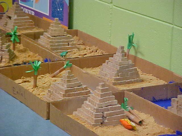 Egyptian Pyramids Project Student Projects | School project ...