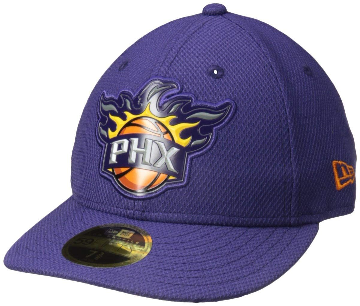 NBA Phoenix Suns Adult Bevel Team Low Profile 59FIFTY Fitted Cap ... 29ad27e50d74