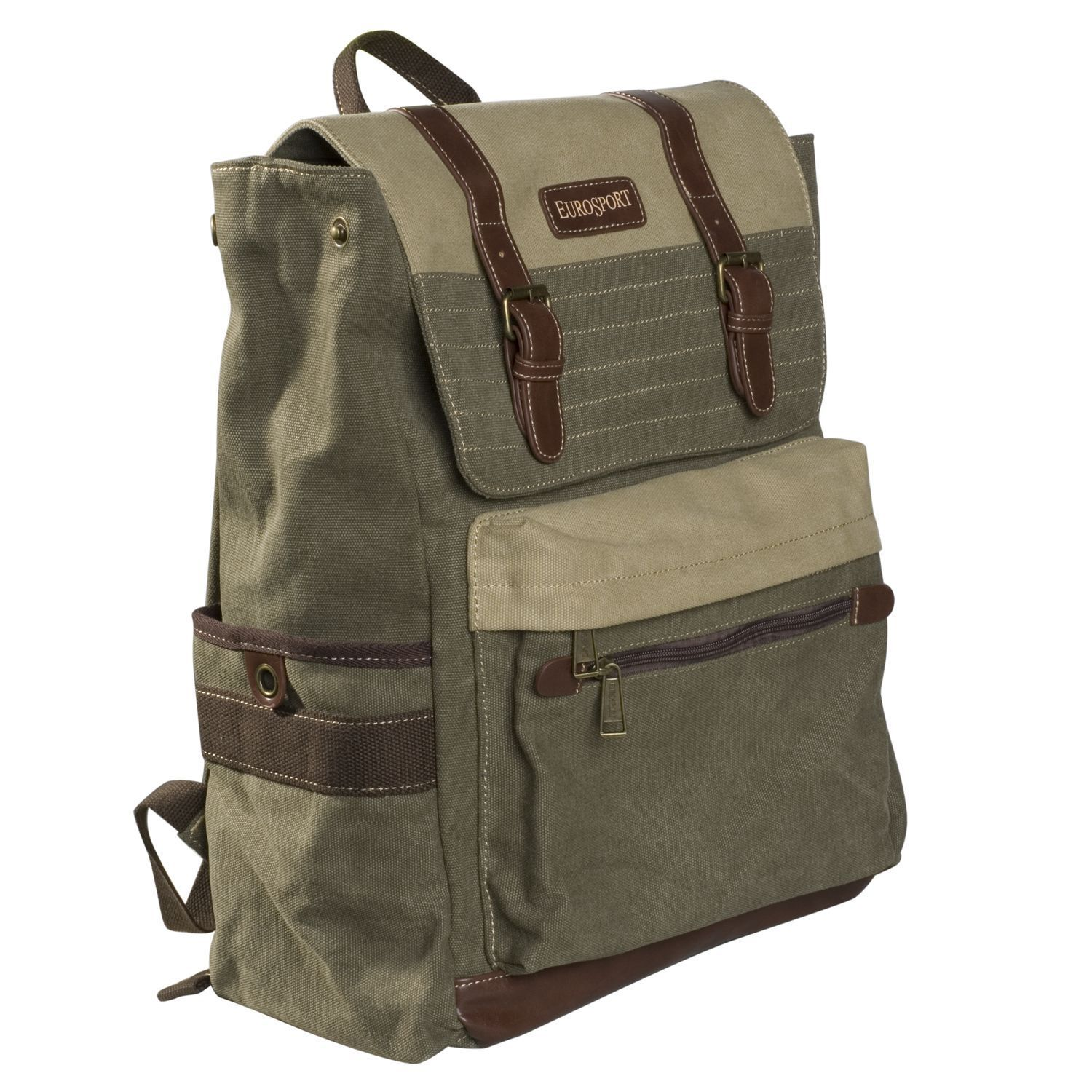 70bf1e731172 Canvas Laptop Backpack by Eurosport | eBay | On the go lifestyle ...