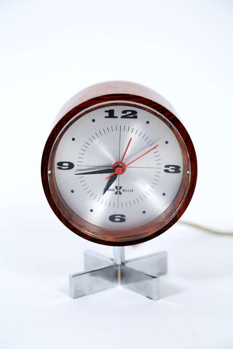 Arthur Umanoff Desk Clock George Nelson And Associates 1950s Modern Clock Clock Vintage Clock