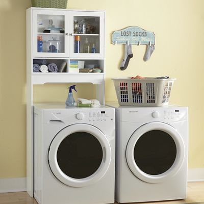 Exceptionnel Over The Washer Space Saver