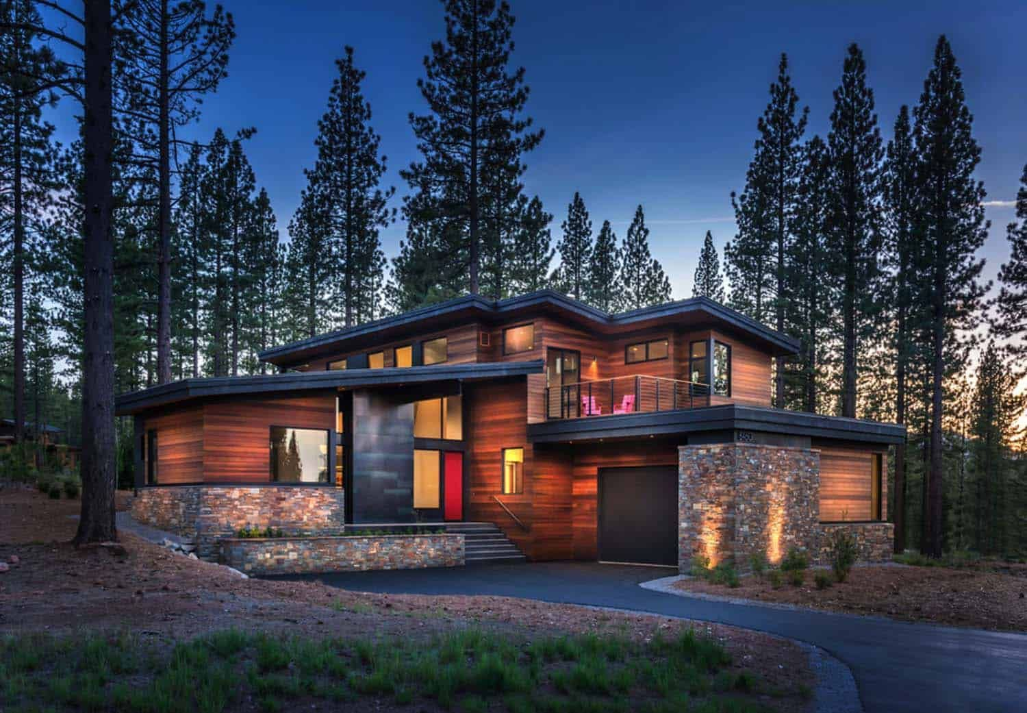 prefabricated tahoe mountain home secluded in beautiful on modern cozy mountain home design ideas id=70521