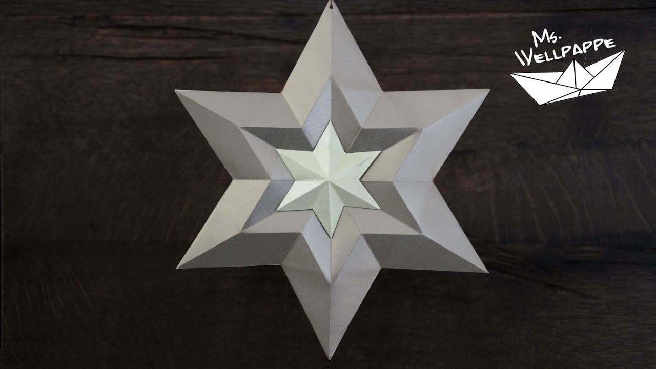 Brilliant Weihnachtsdeko Aus Papier Das Beste Von Sterne Basteln Zu Weihnachten - Mit Selber