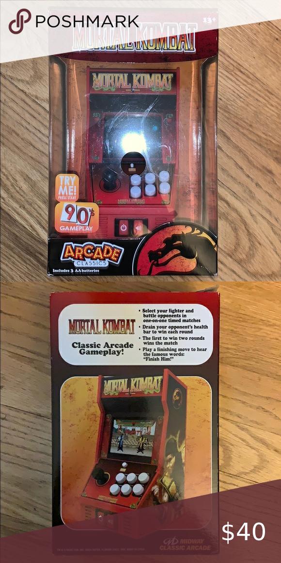 Mortal Kombat Arcade Game Mortal Kombat Arcade Arcade Games Arcade