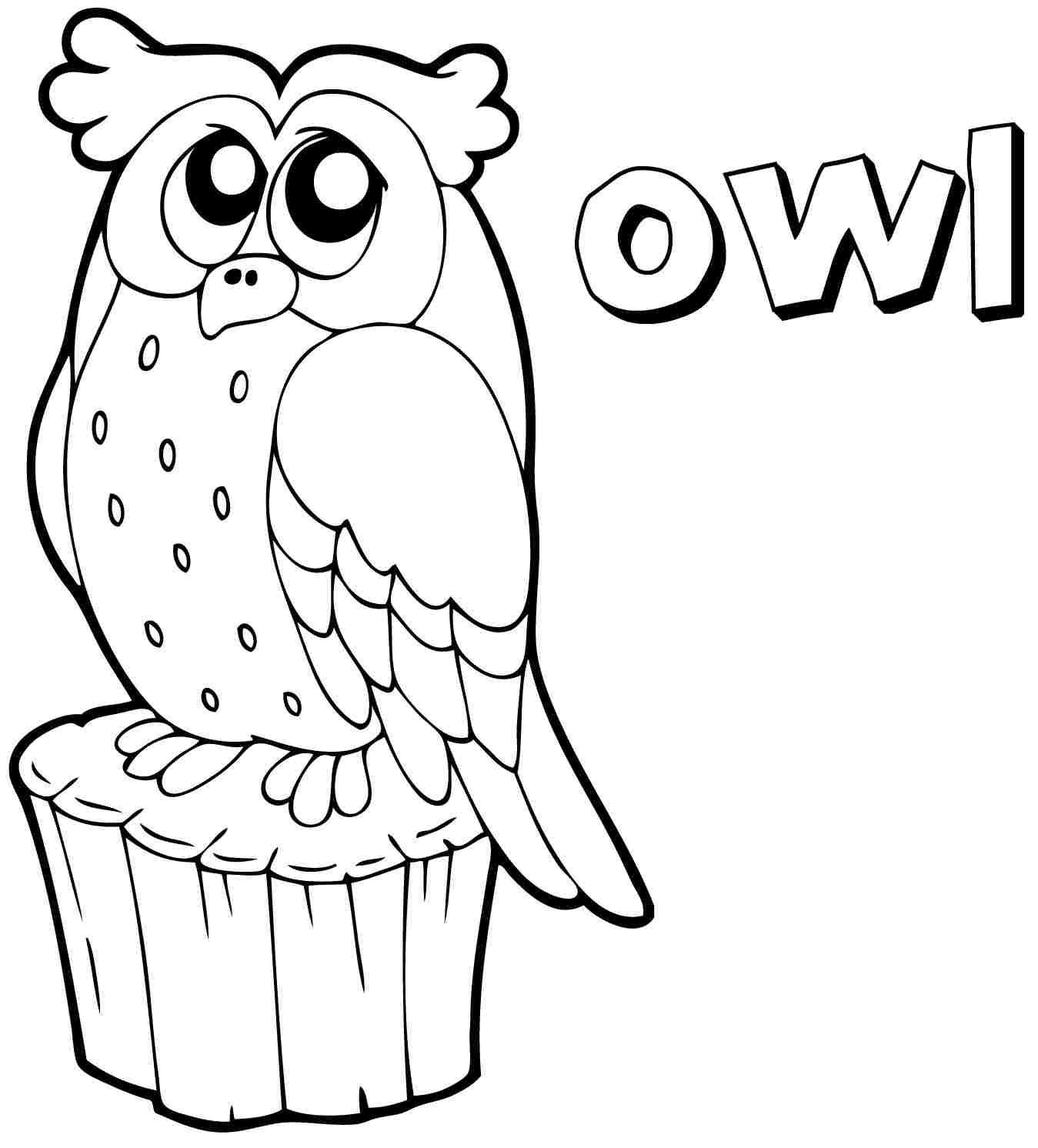 Cute Owl Coloring Pages | Color Periods | Free Coloring Pages ...