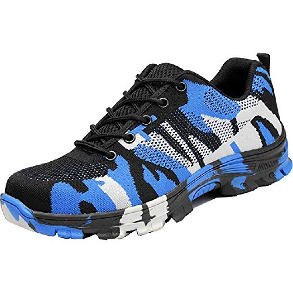 2b092e998fc1d Mens Womens Work Safety Shoes Industrial Construction Puncture Proof ...
