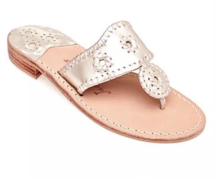 a6fdaf70bd0d JACK ROGERS Platinum Sandal Size 7  fashion  clothing  shoes  accessories   womensshoes  sandals (ebay link)