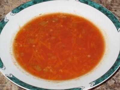 Cuisine chic et simple: Soupe au gruau de Esther b
