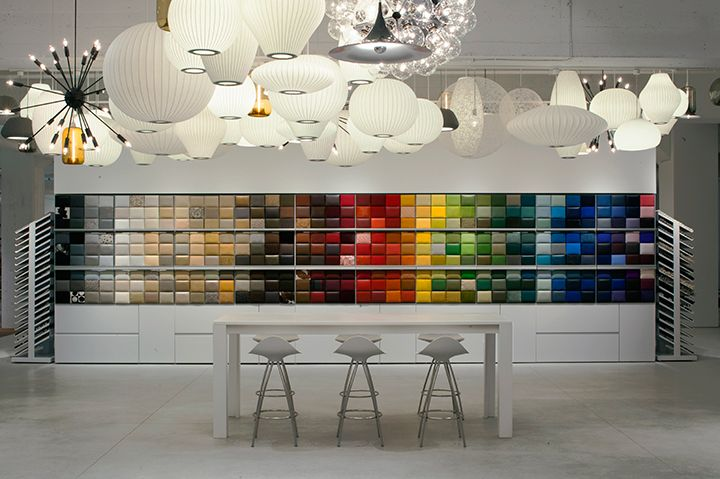 Dwr Design Library Swatch Wall With Removable Color Swatches