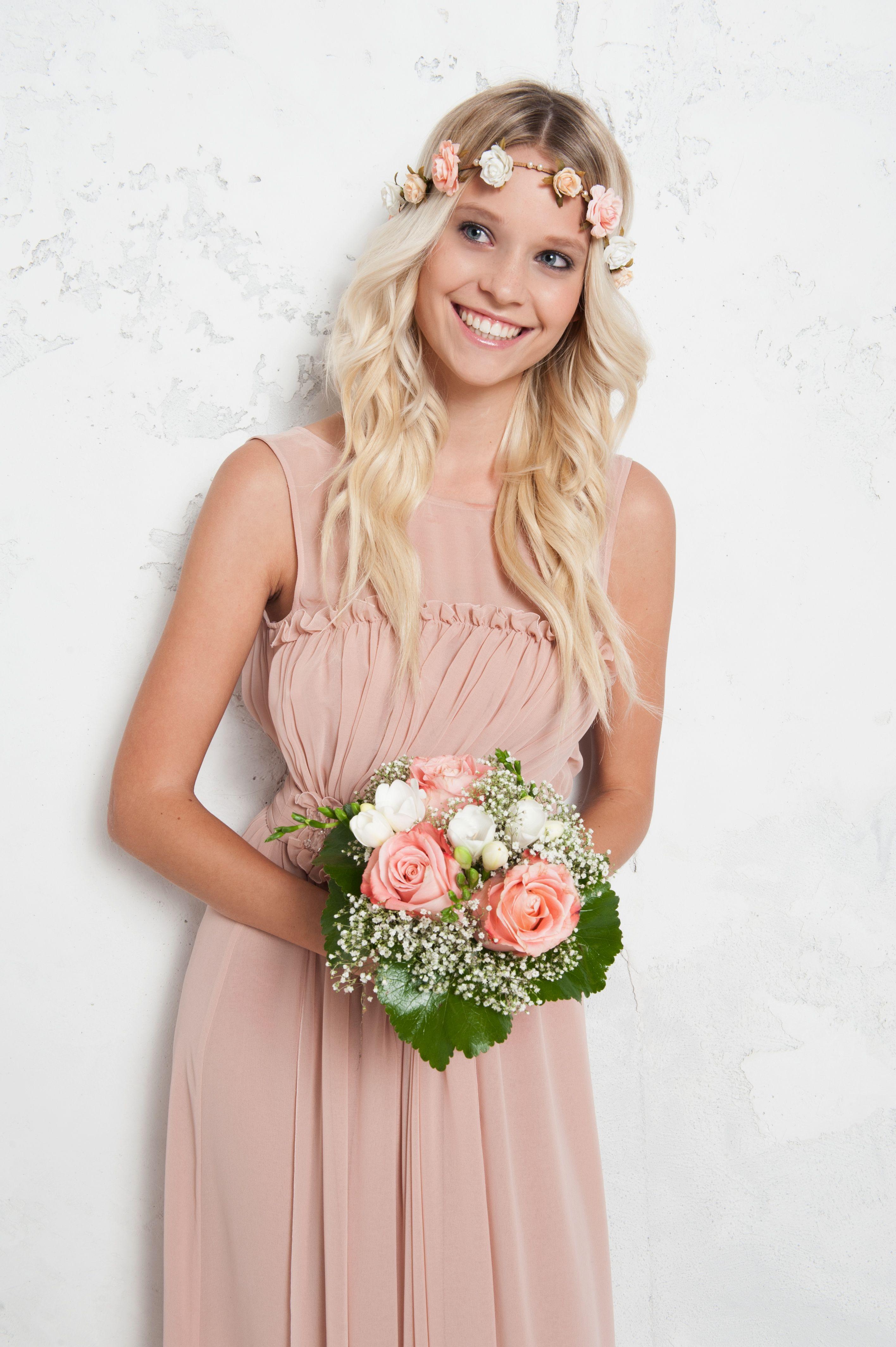 Bodenlanges Kleid Mit Bestickter Scharpe Kleid Hochzeit Gast Kleider Hochzeit Kleid Hochzeit