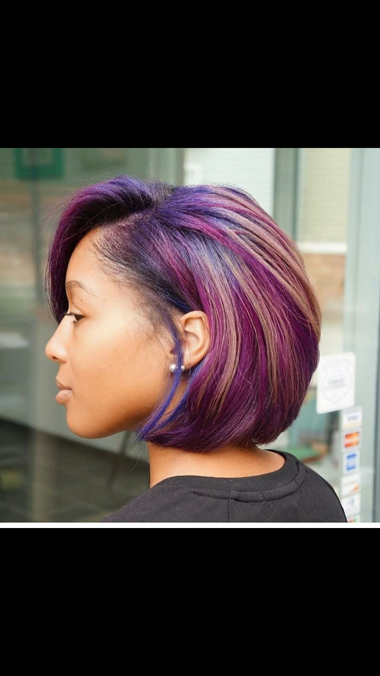 Side Part Bob Weave Hairstyles With Color Beautiful 11 Fierce Relaxed Bobs For Black Women 2018