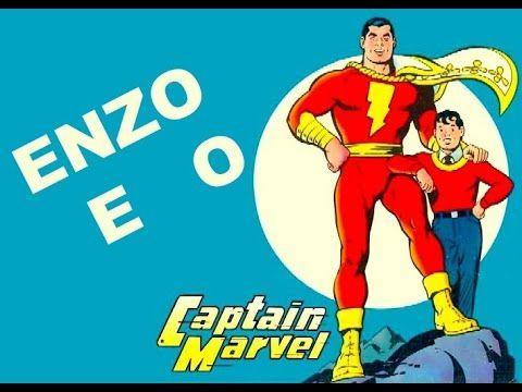 Enzo e o Capitão Marvel  - Viaje na Viagem - história infantil