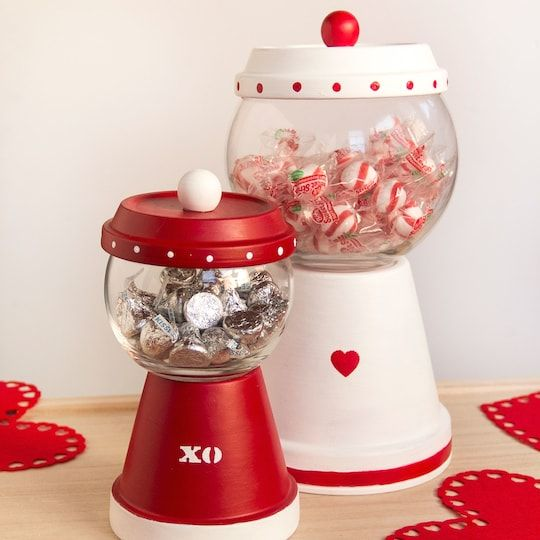 Valentine's day candy dispenser
