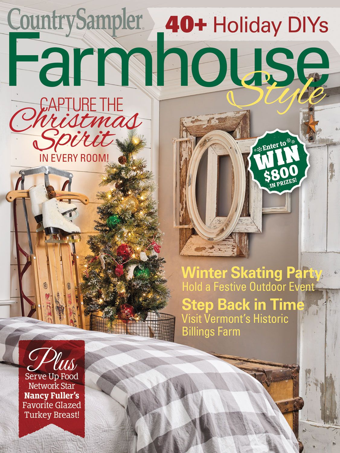 The holidays are heading this way, and our Farmhouse Style