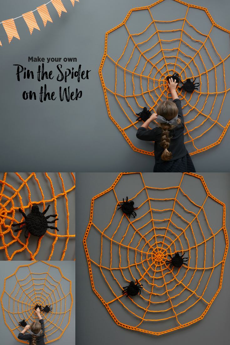 Crochet A Halloween Wall Decoration That Can Also Provide A Fun