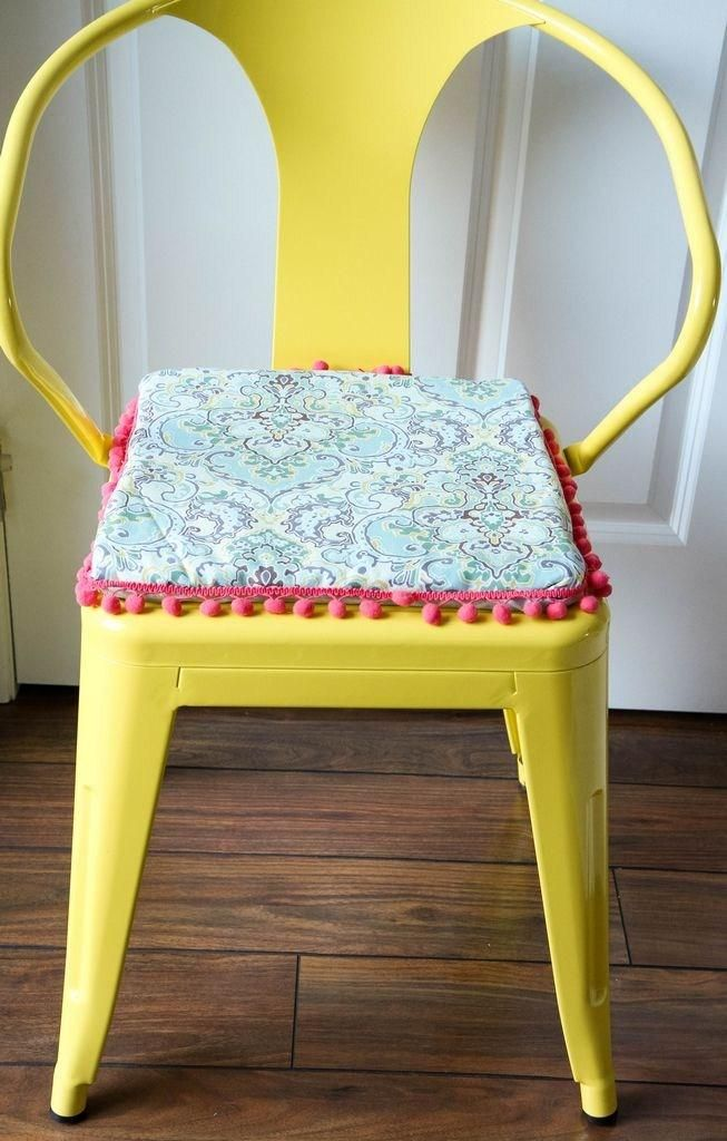 diy chair cushion no sew folding with canopy reversible cushions from momadvice com and