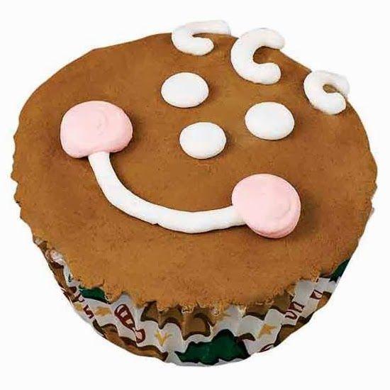 BarraDoce.com.br - Confeitaria, Cupcakes, Bolos Decorados, Docinhos e Forminhas: Receita: Cupcake de Gingerbread