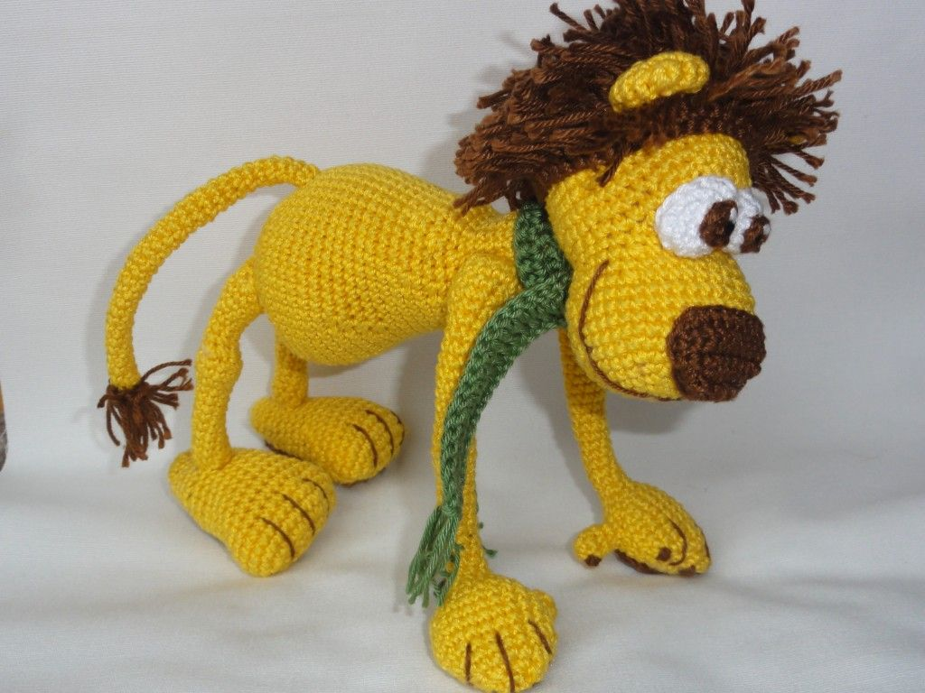 León Amigurumi Tutorial : Leon the lion animals pinterest lions and patterns