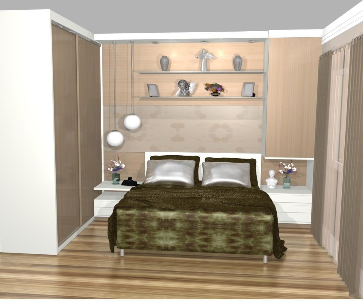 Decora O De Quarto Pequeno Casal Simples Pesquisa Google  ~ Quarto De Casal Planejado De Apartamento Pequeno
