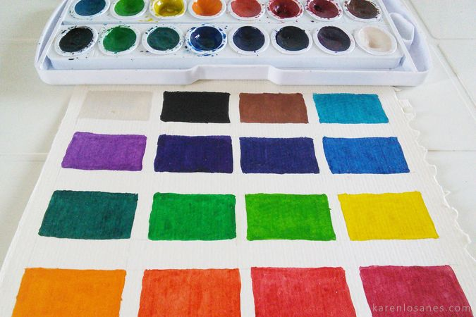 8 Watercolor Painting Supplies For Beginners Watercolor Supplies