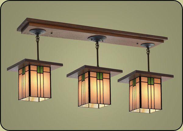 Craftsman Style Light Fixture 507 Craftsman Decor Craftsman