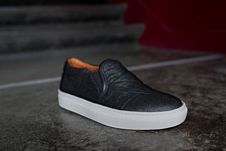 Vegan Shoes Made From Pinatex Vans Classic Slip On Sneaker Vegan Shoes Slip On Sneaker