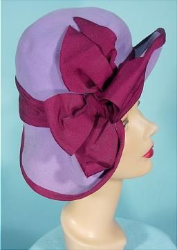 Hat (another view)  -  c 1940s
