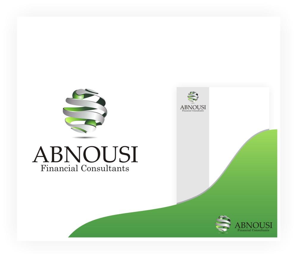 Fun Logo Design For Abnousi Financial Consultants Best Logo Design Cool Logo Financial Logo
