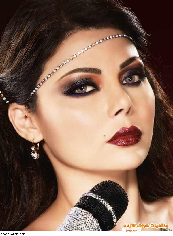 Star Singer Haifa Wehbe Makeup Hairstyles Arabic Makeup